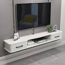 wand tv schrank tv regal schlafzimmer wohnzimmer wandregal