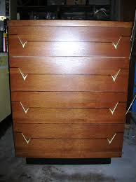 Kent Coffey Blonde Dresser by A Modern Line Heywood Wakefield Refinishing And Other Mid