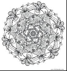 29 Printable Mandala Abstract Colouring Pages For Meditation Stress Relief Incredible Coloring Adults Sheets Hard Free