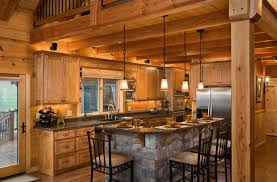 Log Cabin Kitchen Cabinet Ideas by Log Home Kitchen Cabinets Top Home Design