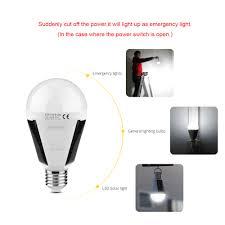 led sensor bulb e27 7w 12w 220v 110v led smart charge emergency