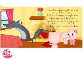 Fiches Graphisme « Les Trois Petits Cochons » Ps Coloriage Trois Petit Cochon Loup