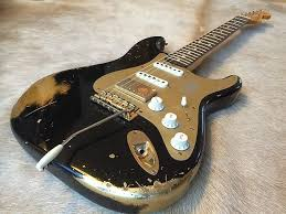 Image Result For Relic Guitar Body Back Stratocaster Black