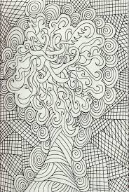 Advanced Flower Complex Coloring Pages