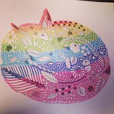 My Beautiful Rainbow Fox Find This Pin And More On Animal Kingdom Colouring Book