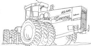 Coloriage Tracteur Les Beaux Dessins De Transport À Imprimer Et 25