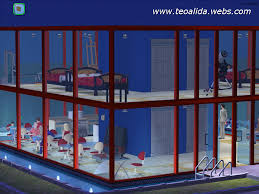 100 Glass Modern Houses House With Full Glass Walls The Sims Fan Page