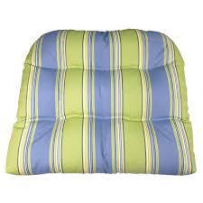 Hampton Bay Patio Chair Replacement Cushions by Amazon Com Patio Chair Cushion Hampton Bay Blue Green Cabana
