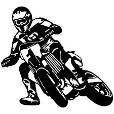 sticker mural moto cross excellent motocross wall decal