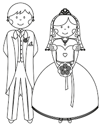 Picture Free Wedding Coloring Pages To Print 77 In Kids With