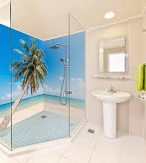 3d palmen tapete badezimmer drucken abziehbild mauer deco aj