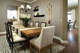 Modern Dining Room Decor Interior Design For Kitchen And Upholstered Chairs Extension Table