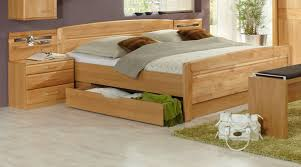 doppelbett massivholz erle lutry8 designermöbel moderne