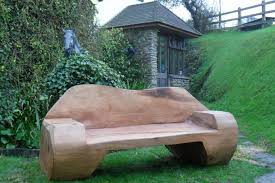 Garden bench and seat pads Pallet Wood Projects Deck Furniture