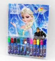 Cheap Unisex Frozen Colouring Book Best Big Kids Multicolor Stationery Kit