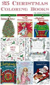 25 Christmas Coloring Books
