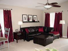 Red Black And Brown Living Room Ideas by Black And White Furniture With Red Accents Black Leather Sofa