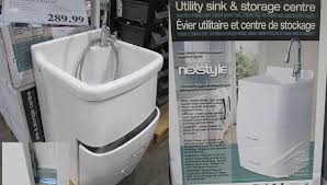 Utility Sink Faucet Menards by Cabinet Utility Sinks With Cabinets Competency Heavy Duty