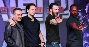 Chris Evans Sebastian Stan Anthony Mackie Captain America Civil War