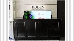 HIDDEN TV lift meubel dressoir cabinet