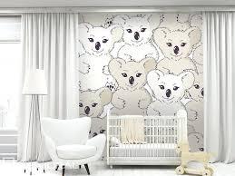 papiers peints pour chambre papier peint pour chambre bebe koala sur le mur papier peint pour