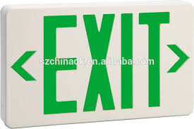 et 100gx ul usa emergency exit light buy emergency exit light
