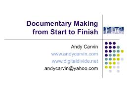 Documentary Making 101