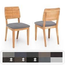 holzstuhl norea 2 polsterstuhl varianten esszimmerstuhl küchenstuhl holzart kernbuche geölt bezugstoff prestige leder steingrau