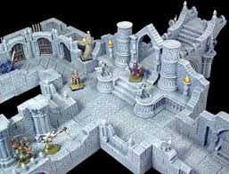 3d Dungeon Tiles Dwarven Forge by Hirst Arts Buyers Guide Roving Band Of Misfits