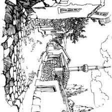 Coloring Pages Landscape Page 42 Colouring