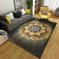 botanische baum blätter blatt 3d gedruckt bereich teppich