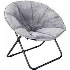 Microsuede Folding Saucer Chair by Purple Saucer Chair Folding Circle Round Moon Bedroom Dorm Kid