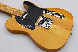 American Vintage 52 Aged Electric GuitarNatural GuitarMaple Body And Headstock GuitarOem Guitar Amplifiers From Brinkley