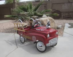 Fire & Rescue Pedal Car | Collectors Weekly Goki Vintage Fire Engine Ride On Pedal Truck Rrp 224 In Classic Metal Car Toy By Great Gizmos Sale Old Vintage 1955 Original Murray Jet Flow Fire Dept Truck Pedal Car Restoration C N Reproductions Inc Not Just For Kids Cars Could Fetch Thousands At Barrett Model T 1914 Firetruck Icm 24004 A Late 20th Century Buddy L Childs Hook And Ladder No9 Collectors Weekly Instep Red Walmartcom Stuff Buffyscarscom Page 2
