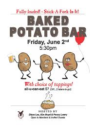 Baked Potato Bar – This Friday, June 2 | Issaquah Eagles Mashed Potato Bar Vessels Food And Display Ideas Pinterest Baked Potato Bar Recipe Mashed Toppings Wedding Tbrbinfo Best 25 Toppings On Crock Pot Picmonkey Image 31 Recipes Misc Foodie Stuff Chili Cookoff Party Bubbly Design Co A Fully Loaded Guide To The Ultimate Serious Eats For Ideas On Stuffed Sweet Potatoes Are Like Sweet Potatoes Only Better Easy Favorite Moneywise Moms Tropical Diy Shower The Bajan Texan