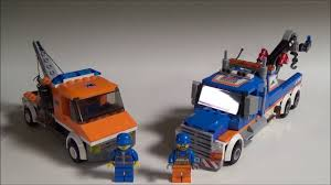 100 Lego City Tow Truck Comparison Review YouTube