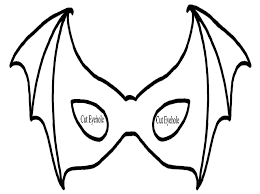 Halloween Masks Coloring Pages 3 Free Printable Mask For Kids