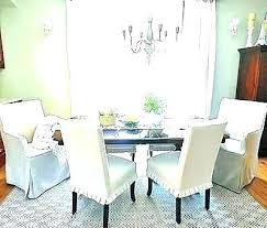 Stunning Ideas Pottery Barn Dining Room Chair Slipcovers Chairs Anal White Protectors Covers Slipcov