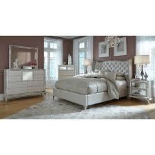 Hollywood Loft Bedroom Set Frost Aico Furniture