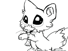 Pictures Of Baby Animals To Color Coloring Pages Draw Cute