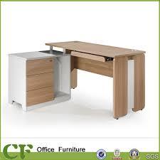 cf bois moderne ordinateur de bureau design vente chaude table d