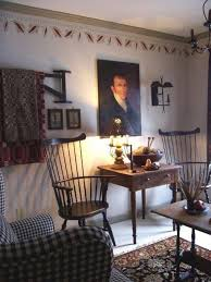 Primitive Living Room Furniture by Living Room With Sofas And Black Windsor Chairs Very Classic