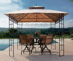 Wilson And Fisher Patio Furniture Replacement Cushions by Outdoor Gazebos Canopies U0026 Pop Ups Big Lots