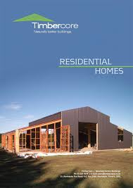 Timbercore Residential Front Cover