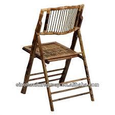 chaise de jardin en bambou chaise pliante en bambou chaise de
