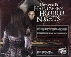 Universal Studios Orlando Halloween Horror by Universal Orlando Brochures U0026 Miscellaneous Items
