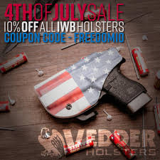 Vedder Holsters - 🇺🇸 Happy Independence Day 🇺🇸 Save 10 ... Vedder Lighttuck Iwb Holster 49 W Code Or 10 Off All Gear Comfortableholster Hashtag On Instagram Photos And Videos Pic Social Holsters Veddholsters Twitter Clinger Holster No Print Wonderv2 Stingray Coupon Code Crossbreed Holsters Lens Rentals Canada Coupon Gun Archives Tag Inside The Waistband Kydex