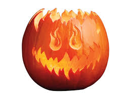 Pumpkin Patterns To Carve by How To Carve A Pumpkin Into A Flaming Jack O U0027 Lantern Food Network