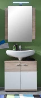 bad spiegelschrank eiche san remo 60 bad badezimmer spiegel schrank möbel cus