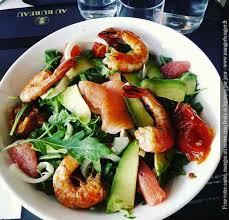 le bureau rouen restaurant salade gambas agrumes au bureau rouen